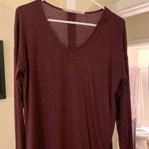 Nordstrom Women's burgundy sweater